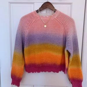 ZADIG&VOLTAIRE 100% cotton Rainbow sweater